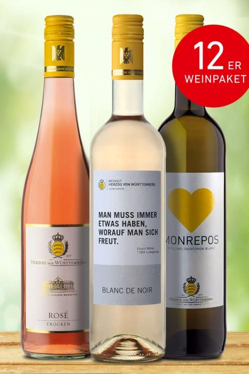 """12er Weinpaket """"Sommerlieblinge"""""""