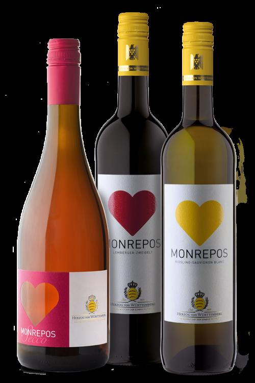 """Weinpaket """"Herz Trio"""""""