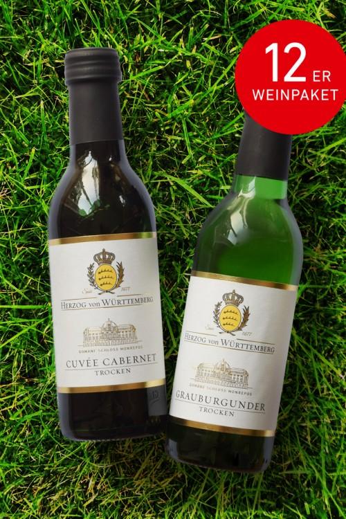 12er Weinpaket Mini's