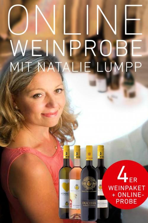 Online-Weinprobe mit Natalie Lumpp