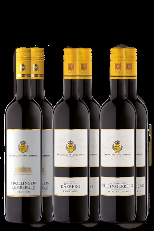 "Weinpaket ""Schwäbische Klassiker"""