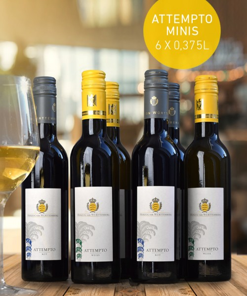 "Weinpaket ""ATTEMPTO minis"""