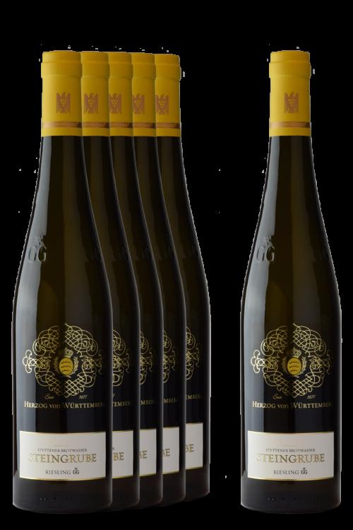 """5+1 Weinpaket Stettener Brotwasser """"Steingrube"""" GG"""