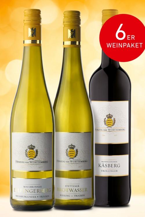 """Das """"Sommer auf Schwäbisch""""-Weinpaket"""