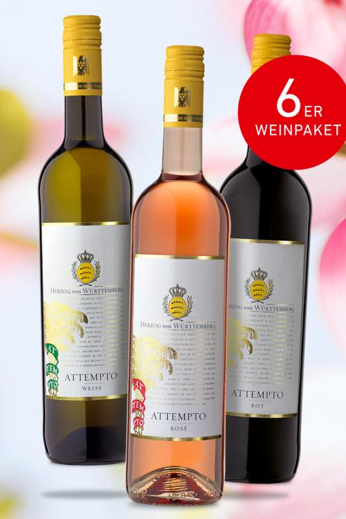 "Weinpaket ""ATTEMPTO- der Frühling ist da"""